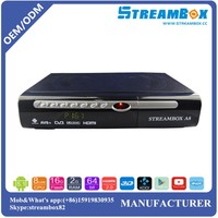 Classical 1080P Hisilicon cpu IPTV Linux and Android Hi3719 DVB-S2 Set Top Box