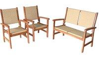 Ohio All Weather Poly Rattan Furniture Set