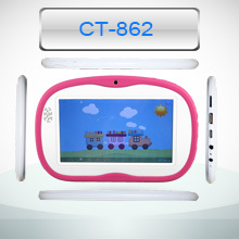 cheap 7 inch Dual-core RK3026 Kids Tablet made in china