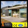 Waterproof elegant appearance low cost living 20ft tiny steel prefab house