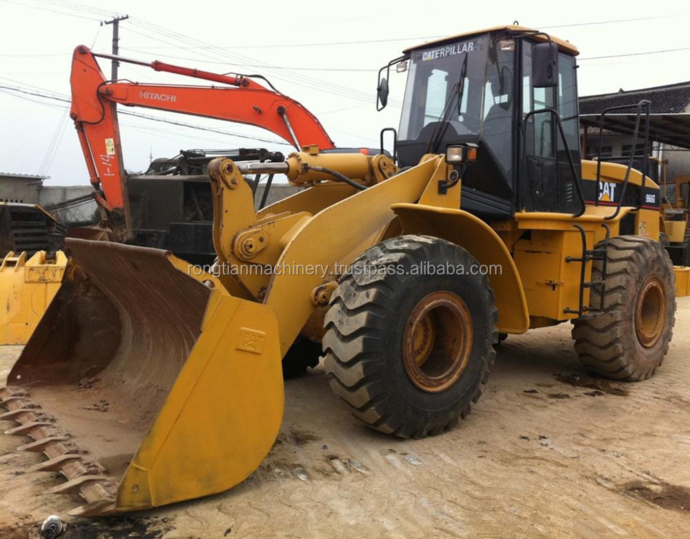 Good quality used cat wheel loader 966G for sale/ cat loader with low price
