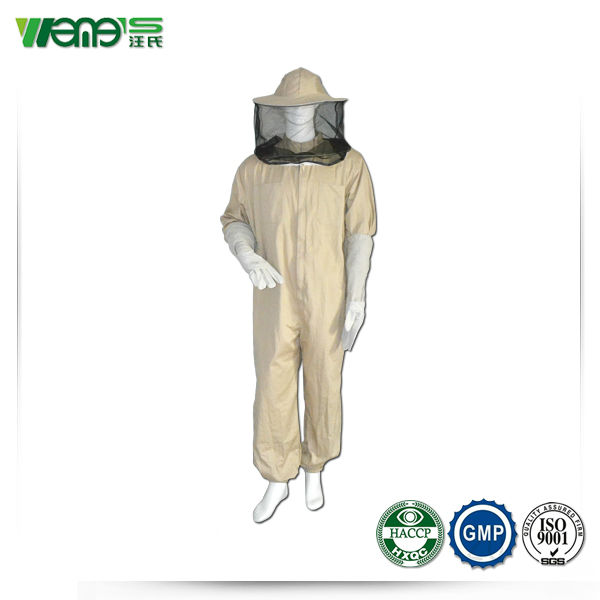2014 hot sale pure cotton bee protective clothing suit for beekeepers