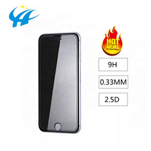 0.33MM 2.5D 9H Hardness Manufacturer Custom Wholesale Mobile Tempered Glass Film Screen Protector For iphone 6 7 8 X Xr Xs max
