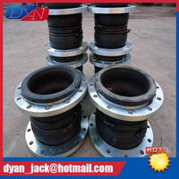 EPDM Double Sphere din standard pn16 rubber expansion joint Resistance to acid and alkali