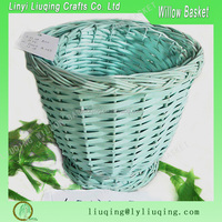 wholesale cheap nature oval wicker peanut storage basket