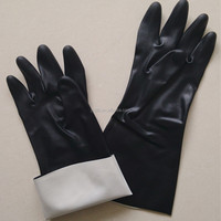 Chemical Grade Neoprene Gloves/Industry Neoprene Chemical Resistant Gloves