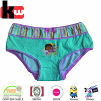 100% Cotton Underwear for Kids Young Girl Panty with Bow