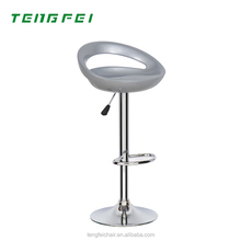 Cheap modern Plastic bar stool with well service