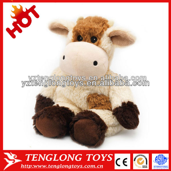 cow plush toy highland cow soft toy free stuffed cow toy pattern