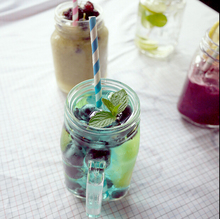 Ball Mason Jar with Lid,16oz home goods drinking glass,decorative glass jars and lids