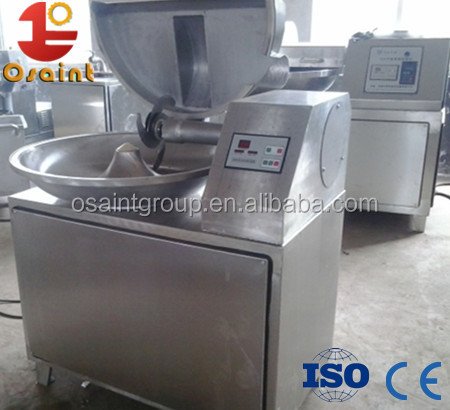 High quality meat bowl cutter machine / commercial vegetable chopper for sale