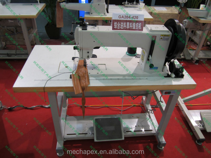 Low price 204-420 industrial leather gloves sewing machine