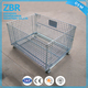 Stackable Pallet Rack Metal Cage Supermarket Roll Steel Wire Storage Container