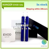 Electronic cigarette starter kit kanger Evod factory low price