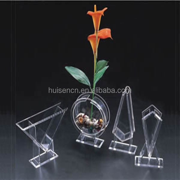HS-FT-001 Acrylic Mini Fish Tank for Office or Indoor Use
