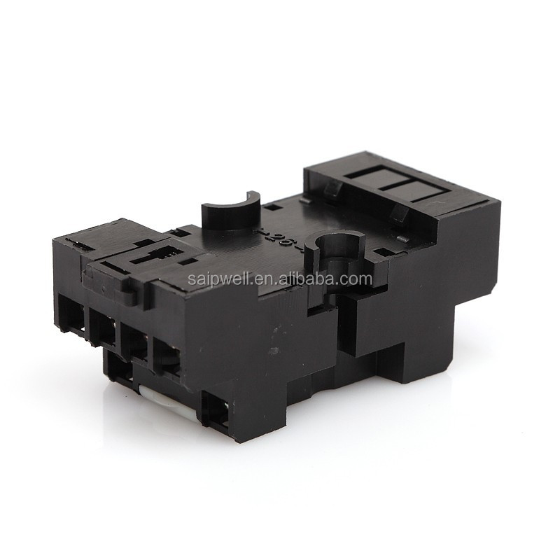 SAIP/SAIPWELL New Product Relay Pin Socket Auto Electrical Socket For Universal Relay