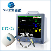 "15"" medical supplies bedside multi-parameter patient monitor price with EtCO2"