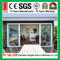 China supplier factory customized apartment aluminum 2 track sliding door
