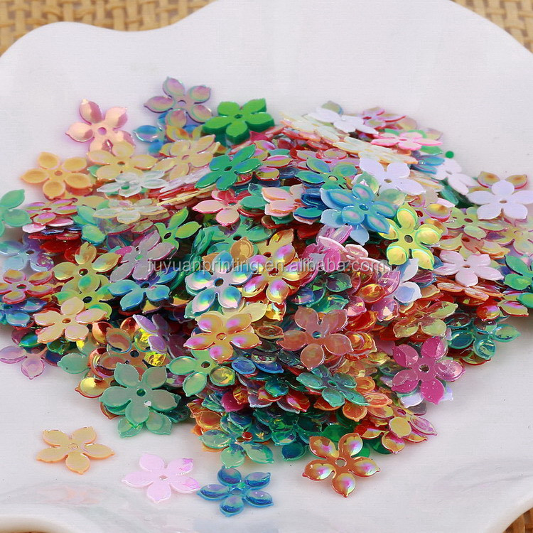 Super quality new coming flower decoration sequins