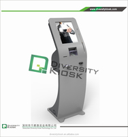 customized self ordering touch multifunctional kiosk cash wash payment terminal