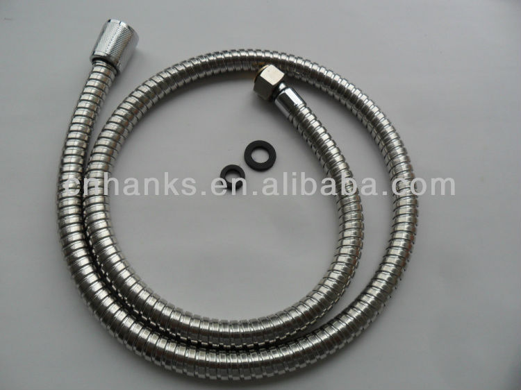 1/2*3/8 braided bathroom hose Bathroom flexible faucet connect hose
