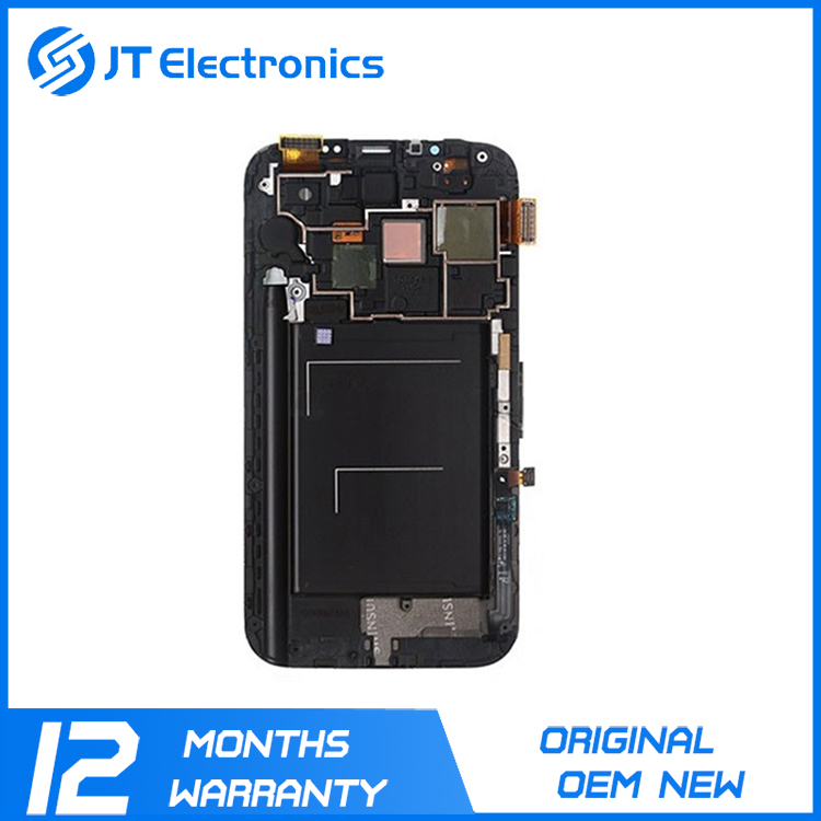 Wholesale touch screen digitizer replacement parts display assembly original lcd for samsung galaxy note 2 N7100