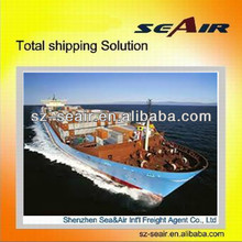 Sea transportation from Shenzhen to Australia or Melbourne-(to door service)