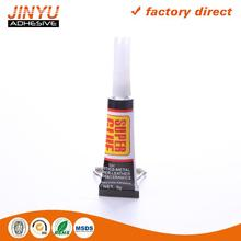 Professional Adhesive Factory 3 seconds quick dry low bloom super glue