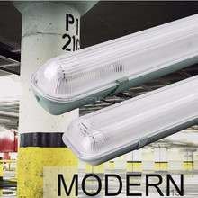 Super Market Shopping Mall Using Waterproof tri ptoof led fixtures ip65 2ft 4ft 5ft