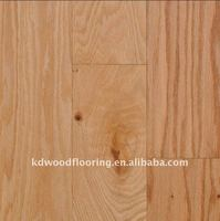 American red oak wood parquet flooring