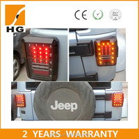 jeep wrangler tail light 07-15 year US/Europen jeep wrangler accessories led tail light for jeep jk tail lamp