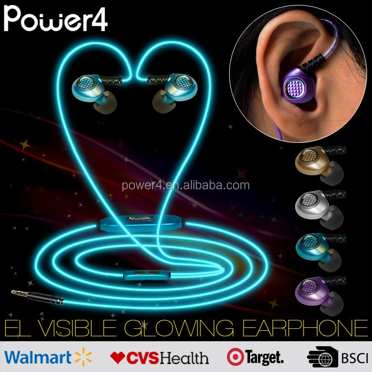 fashion design high quality super sound silent disco headphone with mic