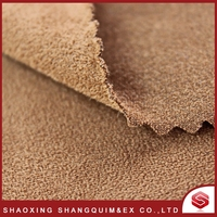 High quality durable using various luxury suede knit fleece fabric