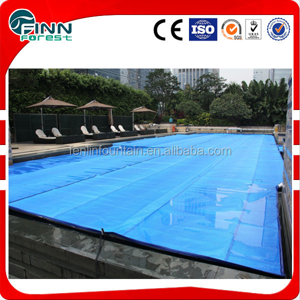 PVC bubble plastic automatic swimming pool cover