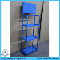 Metal wire engine oil folding wire shelving rack HL-L010