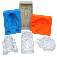 Creative Star Color Wars Silicone Ice Mold for Ice Cube Tray