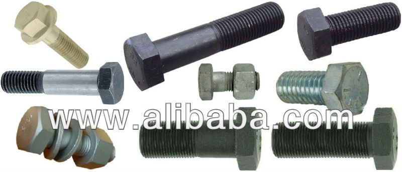 Hexagon Head bolt and Heavy Structural Bolt