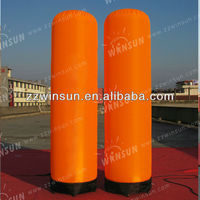 custom made inflatable outdoor advertising columns