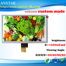 2016 hot sale 8 inch 800*600 TFT panel LCD