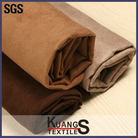 Micro suede fabric , embroidered suede fabric for curtain , suede fabric for sofa