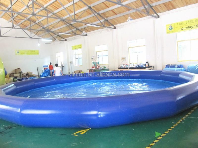 Uso esterno di grandi dimensioni in pvc gonfiabile piscina piscina gonfiabile per la vendita - Dimensioni piscina ...