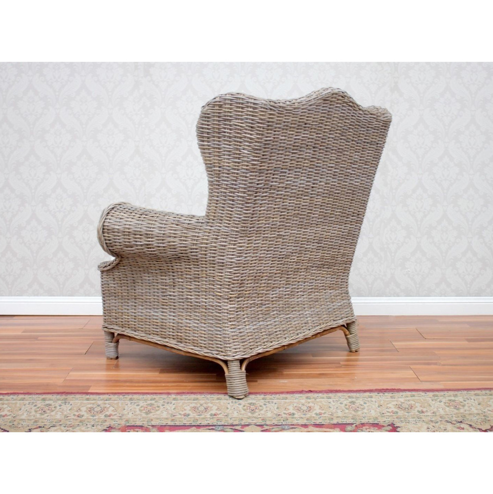 PNT-E-622 Partner Resin Woven Reflexology Single Sofa Chair