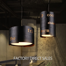 2017 best seller Loft retro industrial unique vintage iron pendant light for Cafe Bar Restaurant decorations