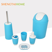low price swing trash bin bathroom sets accessories
