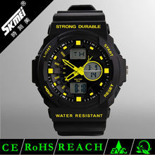 cheap price EL backlight durable PU band running programmable digital winner watch