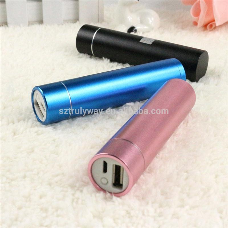 Factory direct wholesale portable 2600mah power bank for mobile phone, power charger