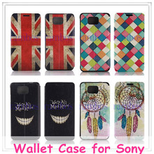 Book Style PU Leather Wallet Folio Case Cover with Card Holder for Samsung Galaxy S4 i9500 / S3 mini/ for iphone 6 Plus
