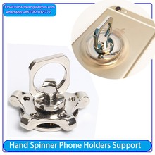 2017 Hand Spinner Focus Toys Tri-Spinner Fidget Stress Reducer Gift Ring Finger Phone Cover spinning fidget for Kids & Adults