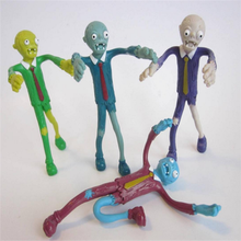 Custom 3d bendable toys, OEM skinny bendy figurines toys, making pvc bendable toys