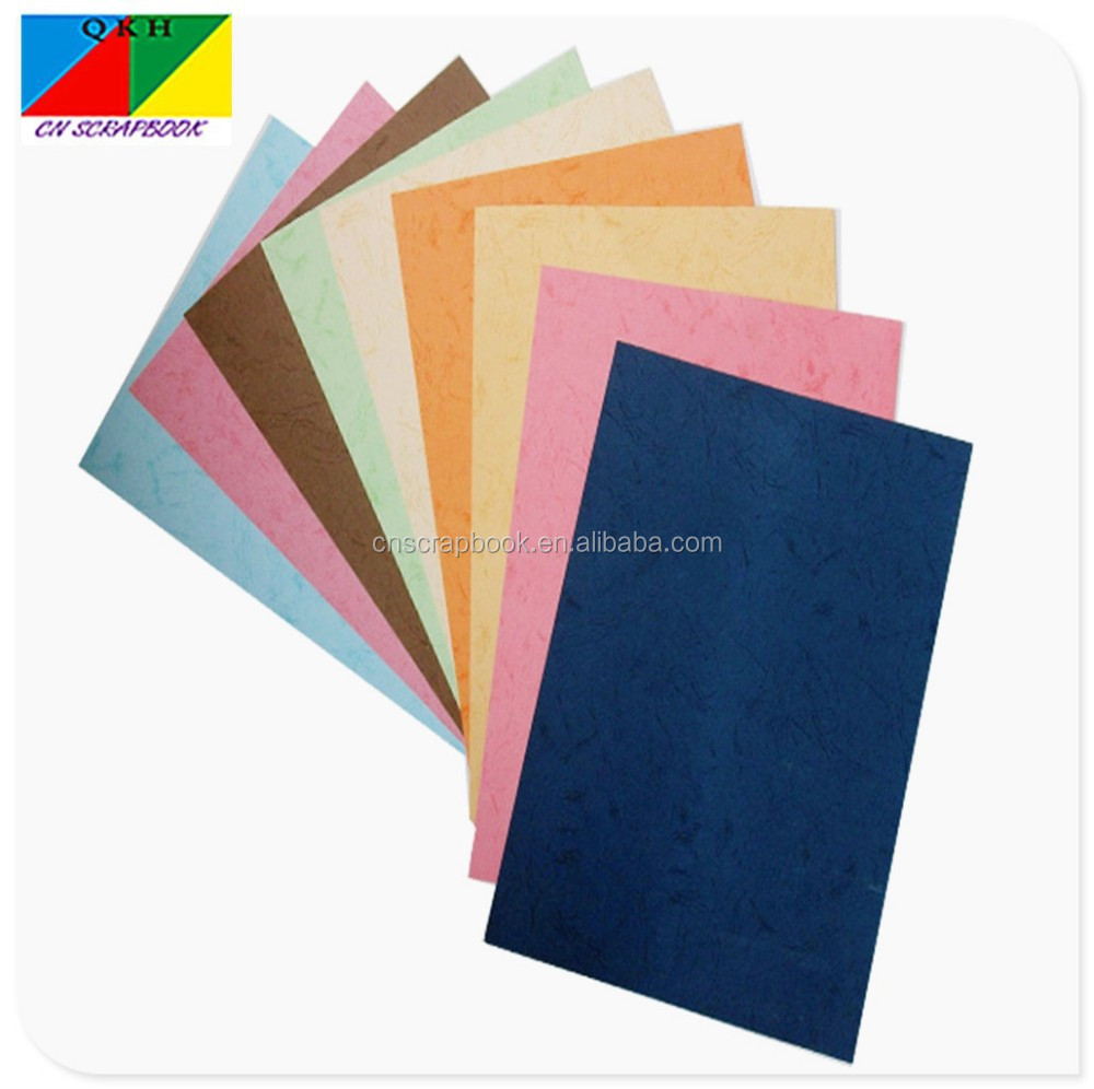 notebook cover binding paper faux leather texture paper